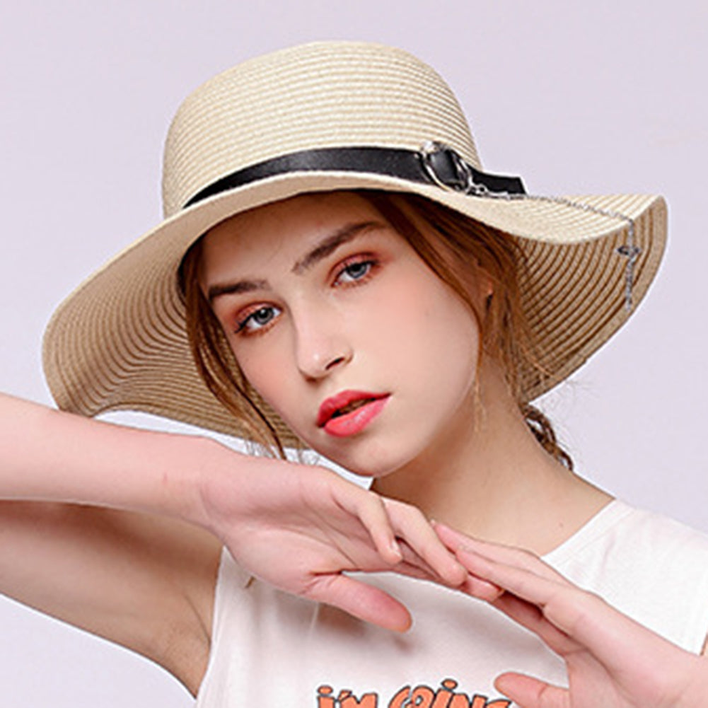 Big Brim Summer Sun Hat - Itopfox
