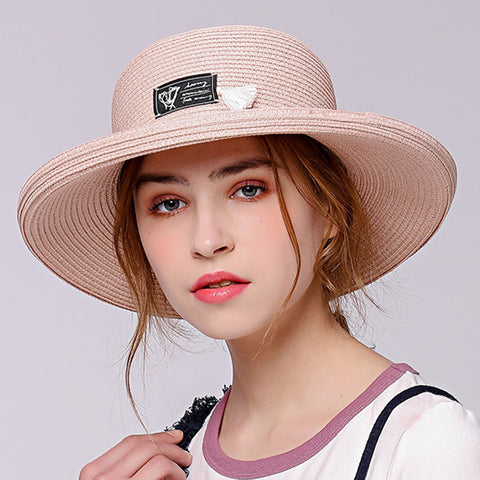 Foldable Roll-Up Fedoras Sun Hat - Itopfox