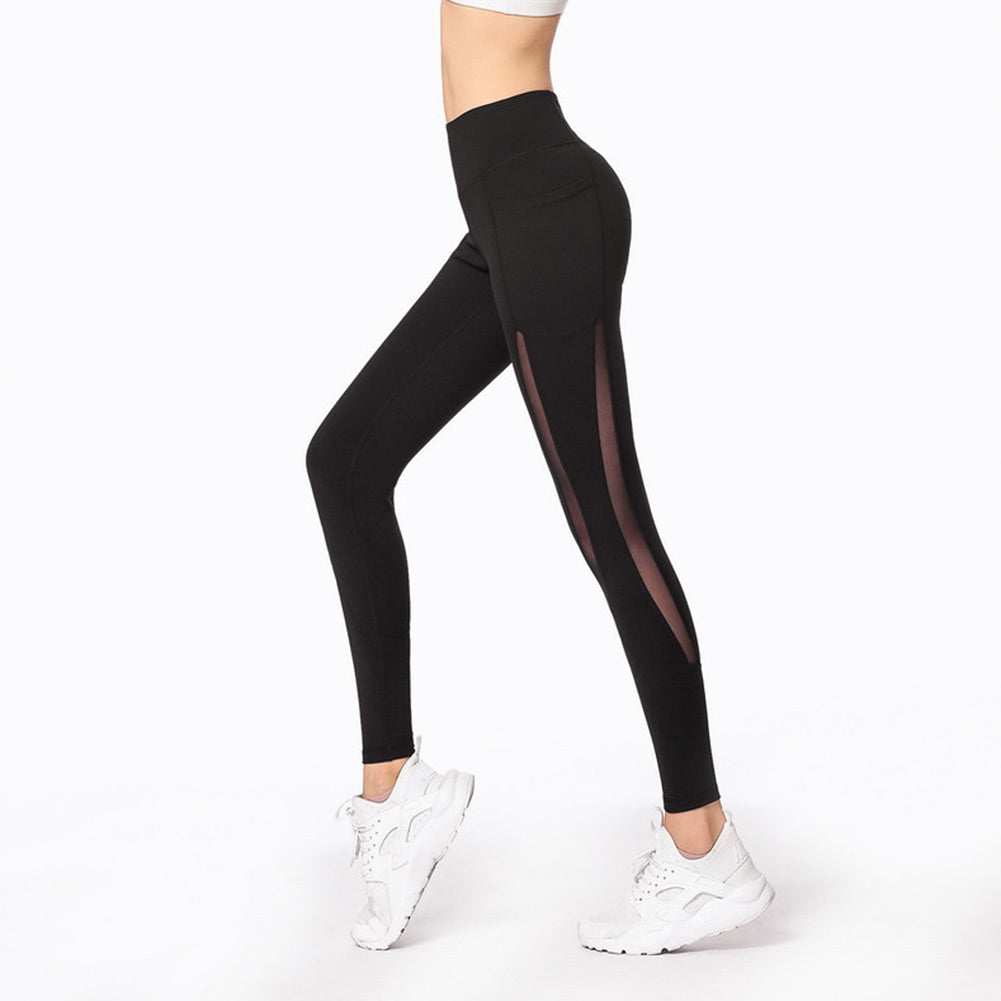 Mesh Joint Yoga Leggings - Itopfox