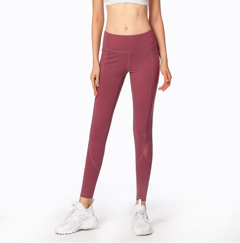 Image of Mesh Joint Yoga Leggings - Itopfox