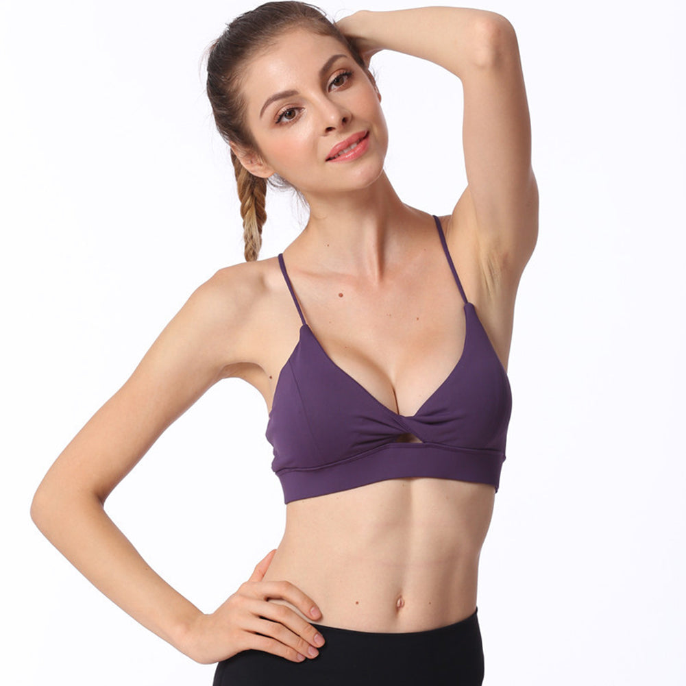 Wirefree Top Gym Workout Running Bra - Itopfox
