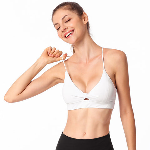 Image of Wirefree Top Gym Workout Running Bra - Itopfox