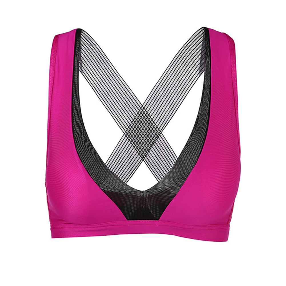 Impact Workout Bra for Yoga Gym Actives - Itopfox