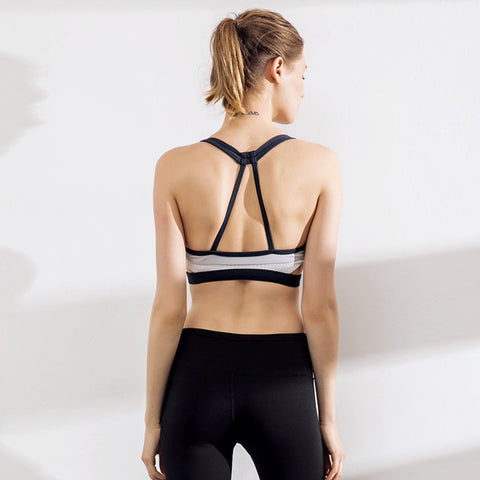 Image of Support Strappy Back Energy Sport Bra - Itopfox