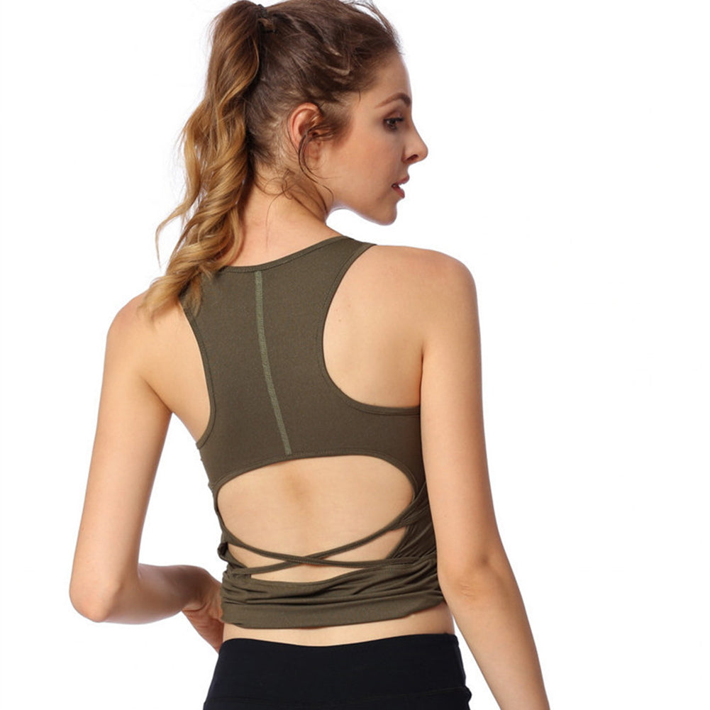 Yoga Workout Tank Top - Itopfox