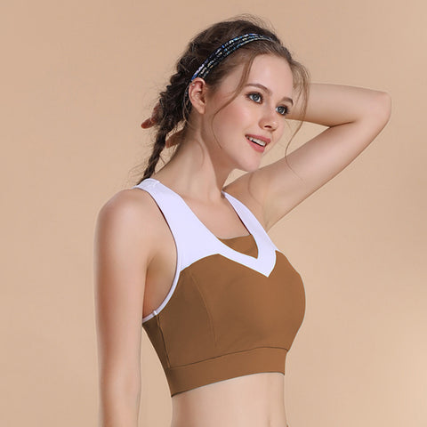 Image of High Impact Support Yoga Bra - Itopfox