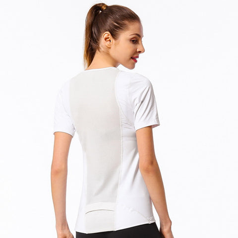 Casual Gym Workout Shirt Tops - Itopfox