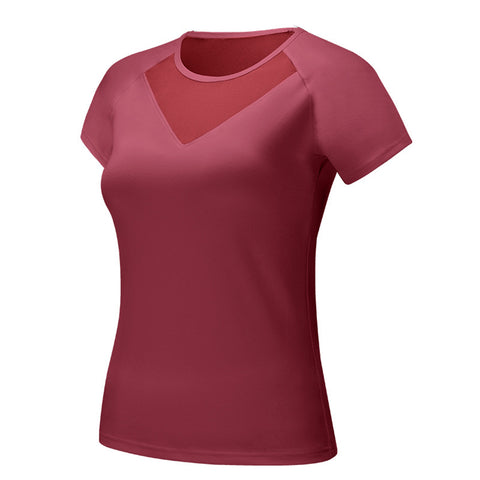 Short Sleeve Moisture Wicking Athletic Shirts - Itopfox