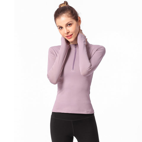 Zip Up Long Sleeve Wear - Itopfox