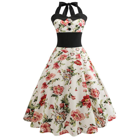 50s Retro Cocktail Dress - Itopfox
