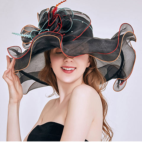 Organza Tea Party Kentucky Derby Hat