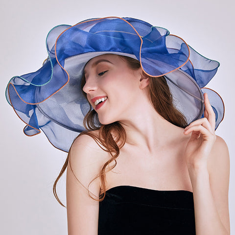 Image of Organza Tea Party Kentucky Derby Hat