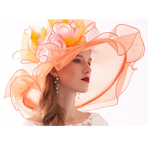 Kentucky Derby Hat For Tea Party - Itopfox