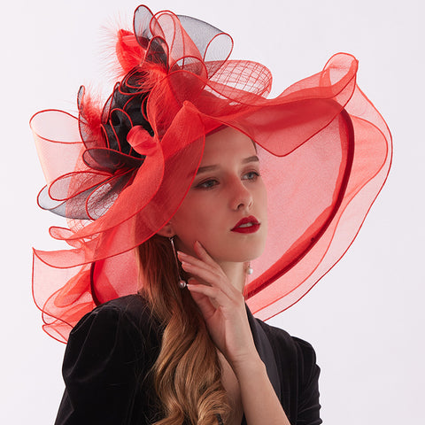 Image of Kentucky Derby Hat For Tea Party - Itopfox