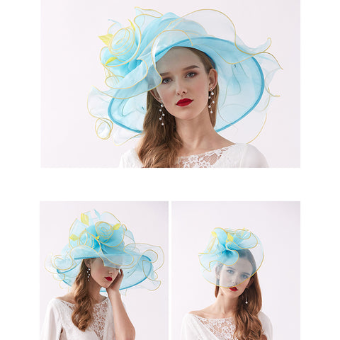 Image of 2-In-1 Kentucky Derby Hat/Fascinator - Itopfox