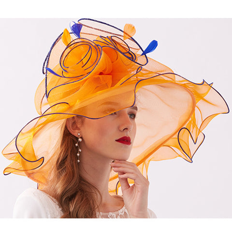 2-In-1 Kentucky Derby Hat/Fascinator - Itopfox