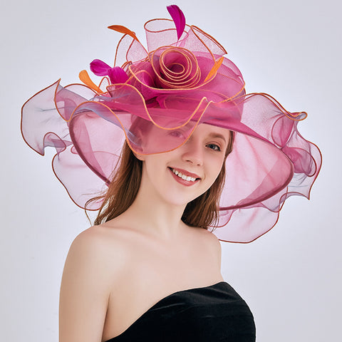 Image of 2-In-1 Kentucky Derby Hat/Fascinator