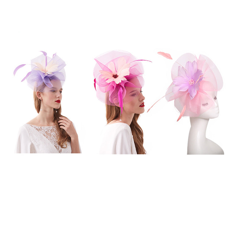 Kentucky Derby Fascinator Tea Party Hat - Itopfox