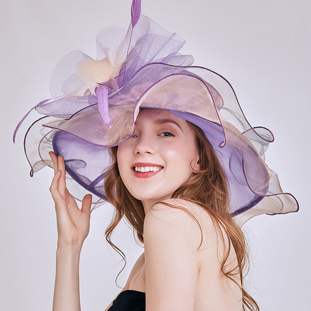 Kentucky Derby Fascinator Tea Party Hat