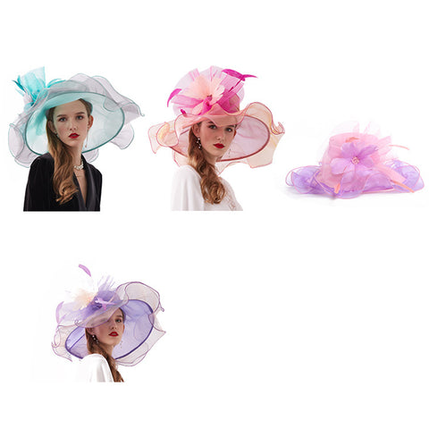 Image of Kentucky Derby Fascinator Tea Party Hat - Itopfox