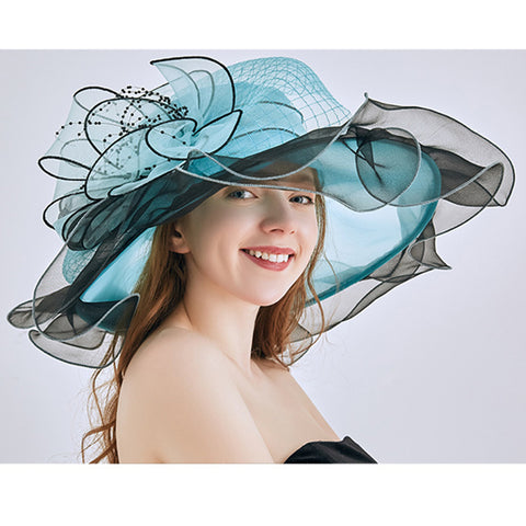 Organza Floppy Kentucky Derby Hat