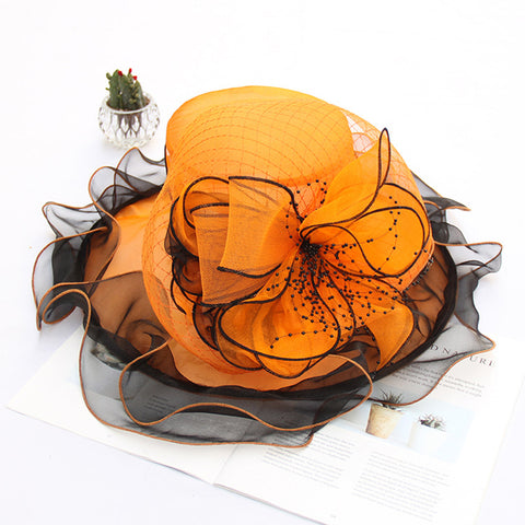 Image of Organza Floppy Kentucky Derby Hat