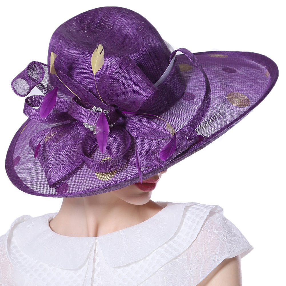 Yarn Kentucky Derby Hat - Itopfox