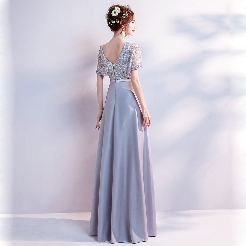 Tunic Maxi Bridesmaid Dress - Itopfox