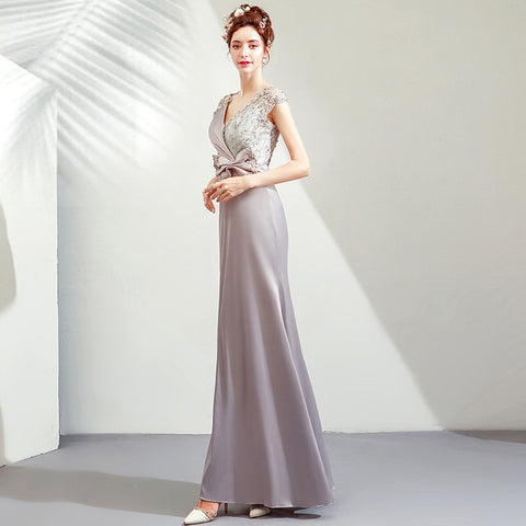 Image of Maxi Tunic Evening Gowns - Itopfox