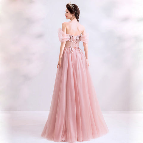 Strapless Sweetheart Prom Dress - Itopfox