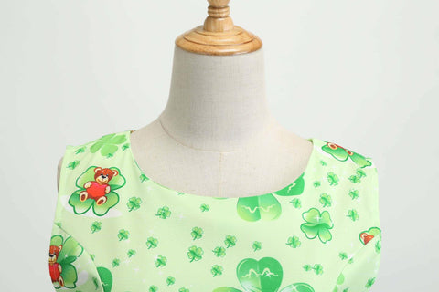 1950's Bowknot Tunic Vintage Dress