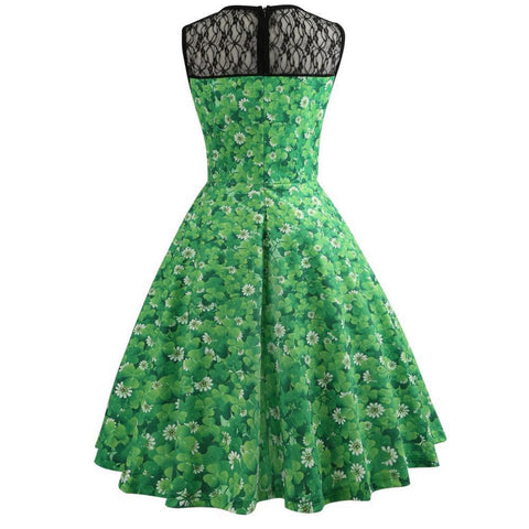 Image of St. Patrick's 1950's Vintage Dress