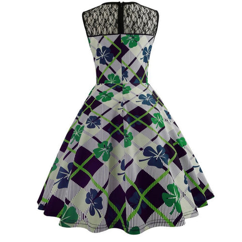 Image of 1950's Vintage St. Patrick's Dress
