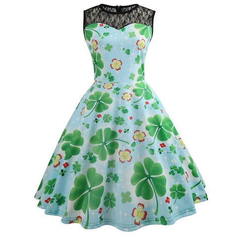 Image of Tea Party Vintage Hepburn Dress