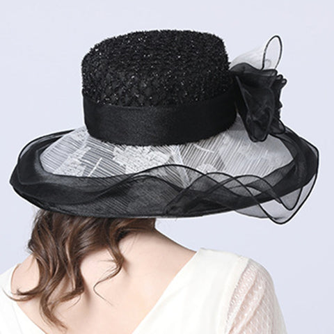 Image of Organza Kentucky Derby Hat For Women