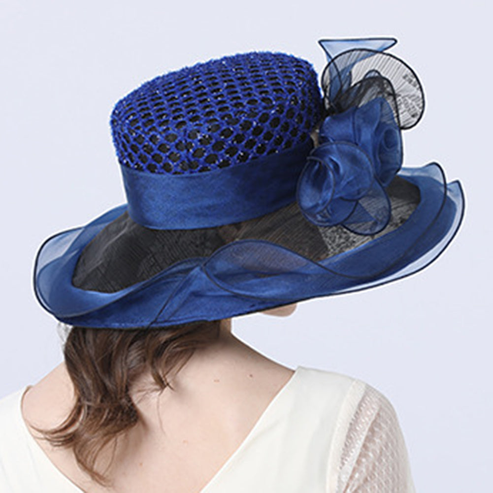 Organza Kentucky Derby Hat For Women