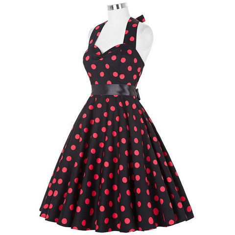Image of 1950's Vintage Cocktail Party Dress - Itopfox