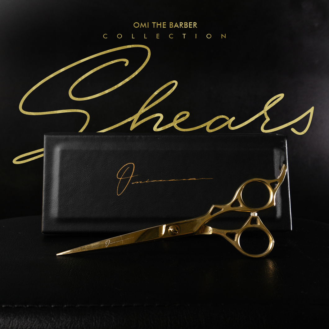 Omi The Barber collection shears