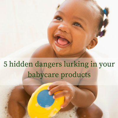 5 hidden dangers lurking in your babycare products