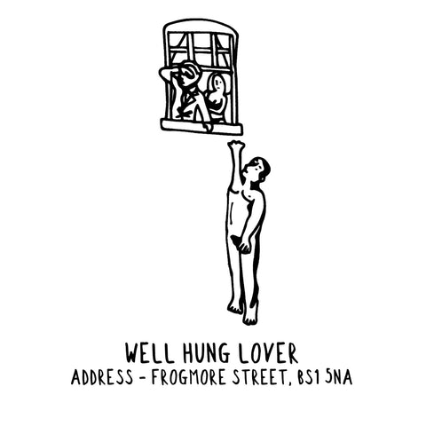 Well Hung Lover Banksy