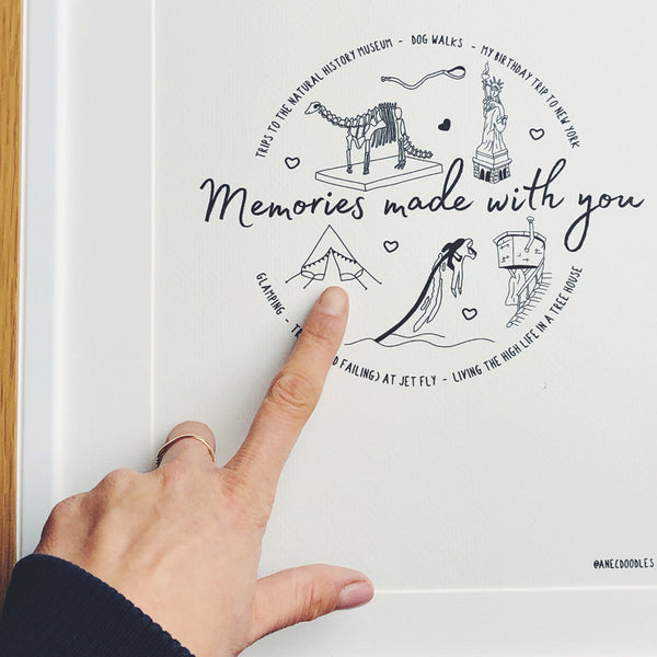 Memories Made With You  - Personalized