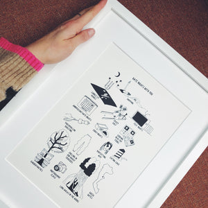 Date Nights Print *PERSONALISED*