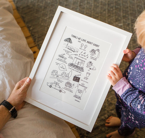 Things We Love About Daddy *personalised*