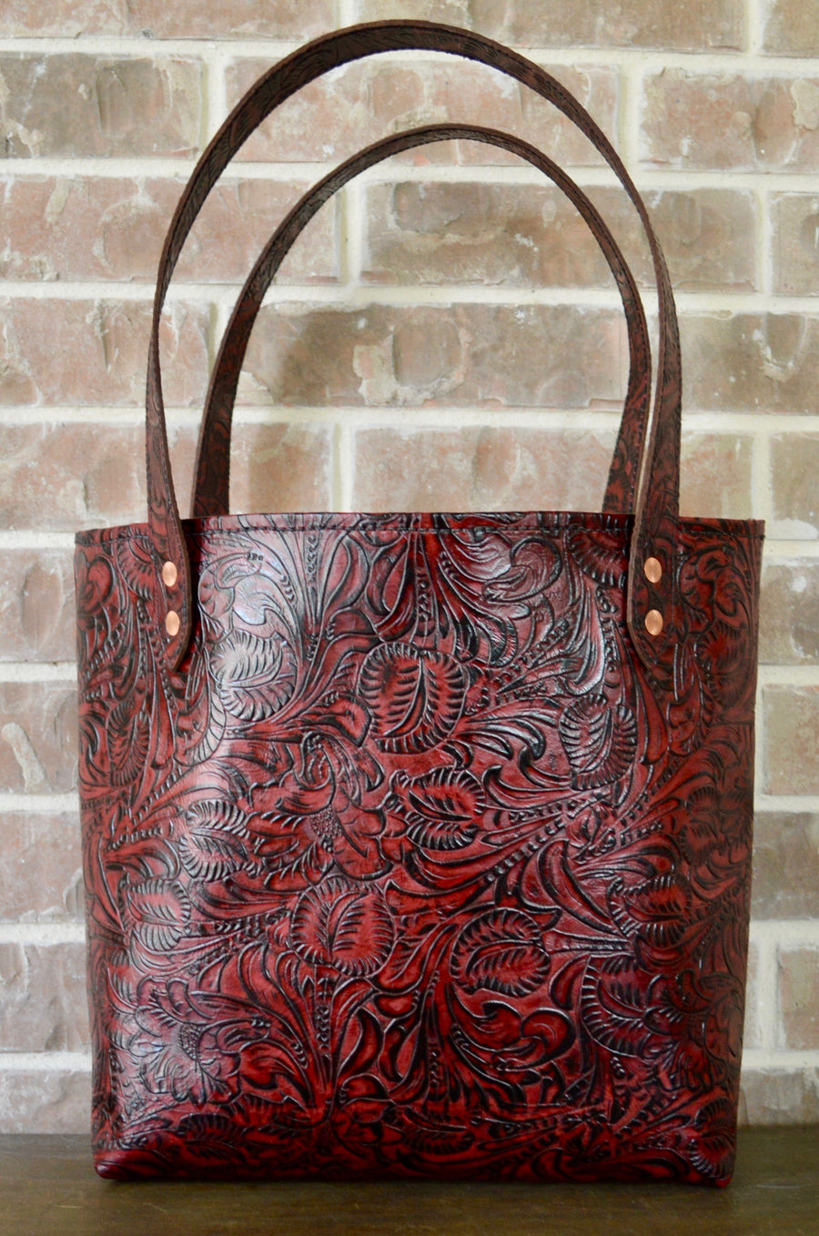 Totes: Lined Leather