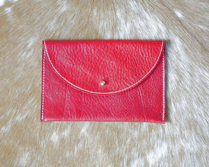Bear Creek Leather Clutches for special occasions and everyday.