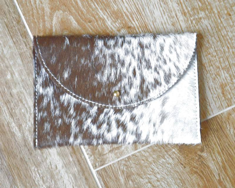 Hair-On Cowhide Leather available in many hides from Bear Creek Leather