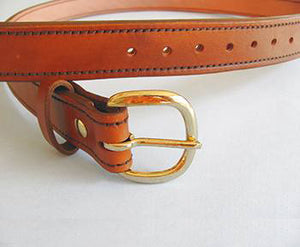 Bear Creek Leather Belts w/Chicago Screws - Handmade in Texas