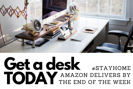 Work from Home, COVID-19: Amazon delivers these cool desks in less than 5 days