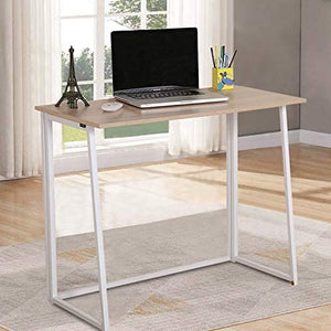 GREENFOREST WHITE & OAK FOLDING DESK