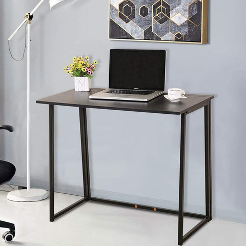 GREENFOREST TOTAL BLACK SIMPLE FOLDING DESK